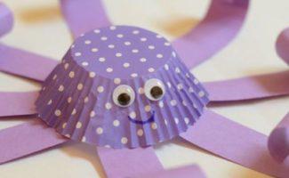 Thuis met de kinderen…..knutsel een Octopus en win.