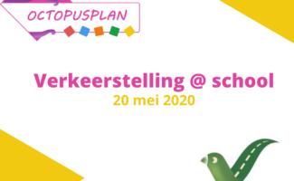 Octopusplan en Straatvinken organiseren Verkeerstelling@school in 2021