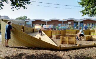 Kindvriendelijke schoolomgeving Langeledeschool Wachtebeke wint de Verkeersveiligheidsprijs 2021