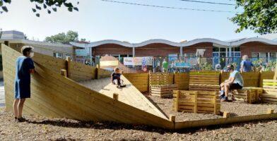 Kindvriendelijke schoolomgeving Langeledeschool Wachtebeke genomineerd voor de Verkeersveiligheidsprijs