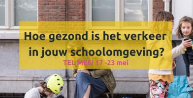Verkeerstelling @ school in samenwerking met Straatvinken